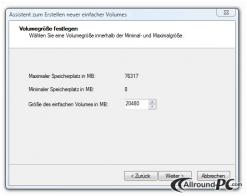 Die Festplatte partitionieren _7_