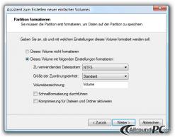 Die Festplatte partitionieren _8_