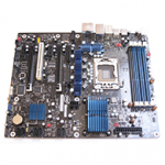 Intel DX58SO Mainboard Test Startbild