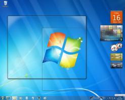 Windows 7 Test _6_ - Desktop anzeigen ohne Klick