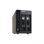 QNAP TS 269 Pro Small Business NAS Server Test Startbild