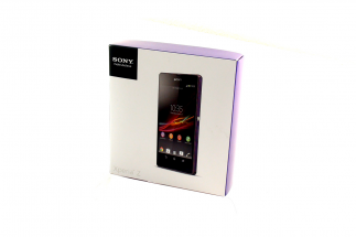 Sony Xperia Z - Verpackung
