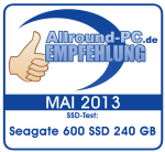 Award Seagate 600 SSD 240 GB