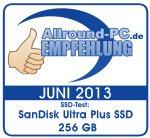 Empfehlung SanDisk Ultra Plus SSD 256 GB