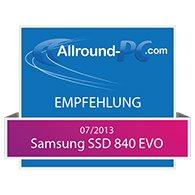 Samsung SSD 840 EVO Award