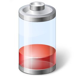 Tablet-Akku: geringe Ladungsstände vermeiden