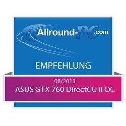 ASUS-GTX-760-DirectCU-II-OC-Empfehlung