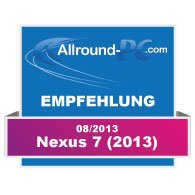 Nexus 7 2013 Award