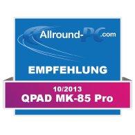 QPAD MK-85 Pro Award