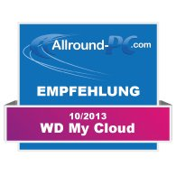 Western Digital My Cloud Award