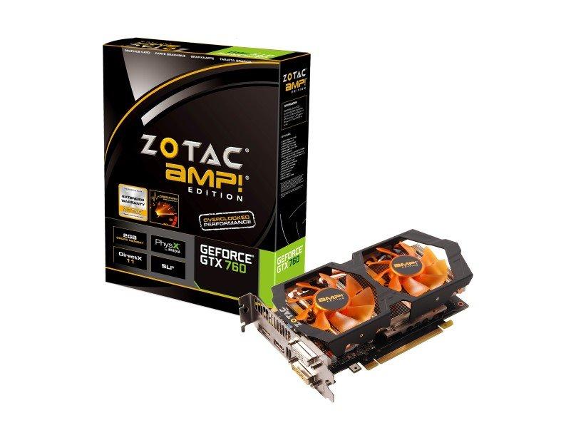 Test: Zotac GeForce GTX 760 AMP! Edition - Allround-PC.com