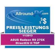 Asus R9 270X DirectCU II Award