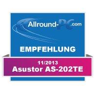 Asustor AS-202TE Award