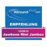 Jawbone Mini Jambox Award