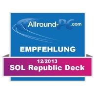 SOL Republic Deck Award
