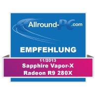 Sapphire R9 280X Award