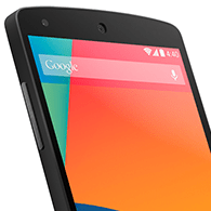 Google Nexus 5 Startbild
