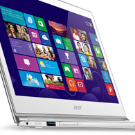 Acer Aspire S7 Startbild