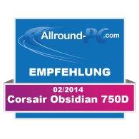 Corsair Obsidian 750 D Award