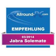 Jabra Solemate Award