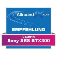 Sony SRS BTX300 Award
