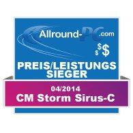 CM Storm Sirus-C Award