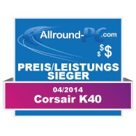 Corsair K40 Award