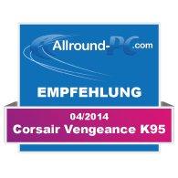 Corsair Vengeance K95 Award