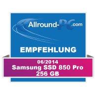 Samsung SSD 850 Pro Award