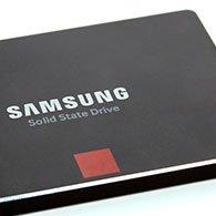 Samsung SSD 850 Pro Startbild