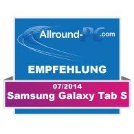 Samsung Galaxy Tab S Award
