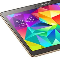 Samsung Galaxy Tab S Startbild