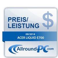 Acer Liquid E700 Award