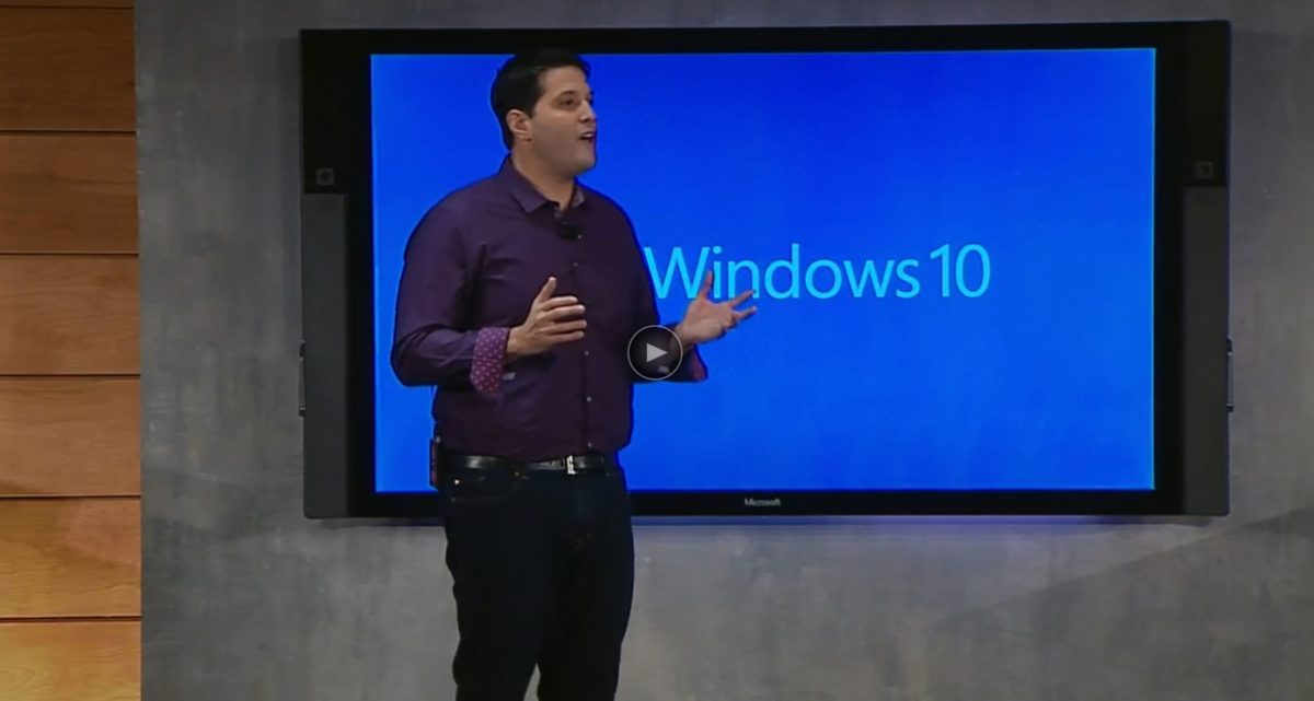 Windows 10 Briefing