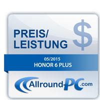 Honor 6 Plus Award