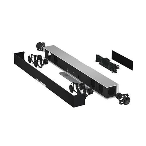 Raumfeld Soundbar - Aufbau des WLAN Lautsprechers