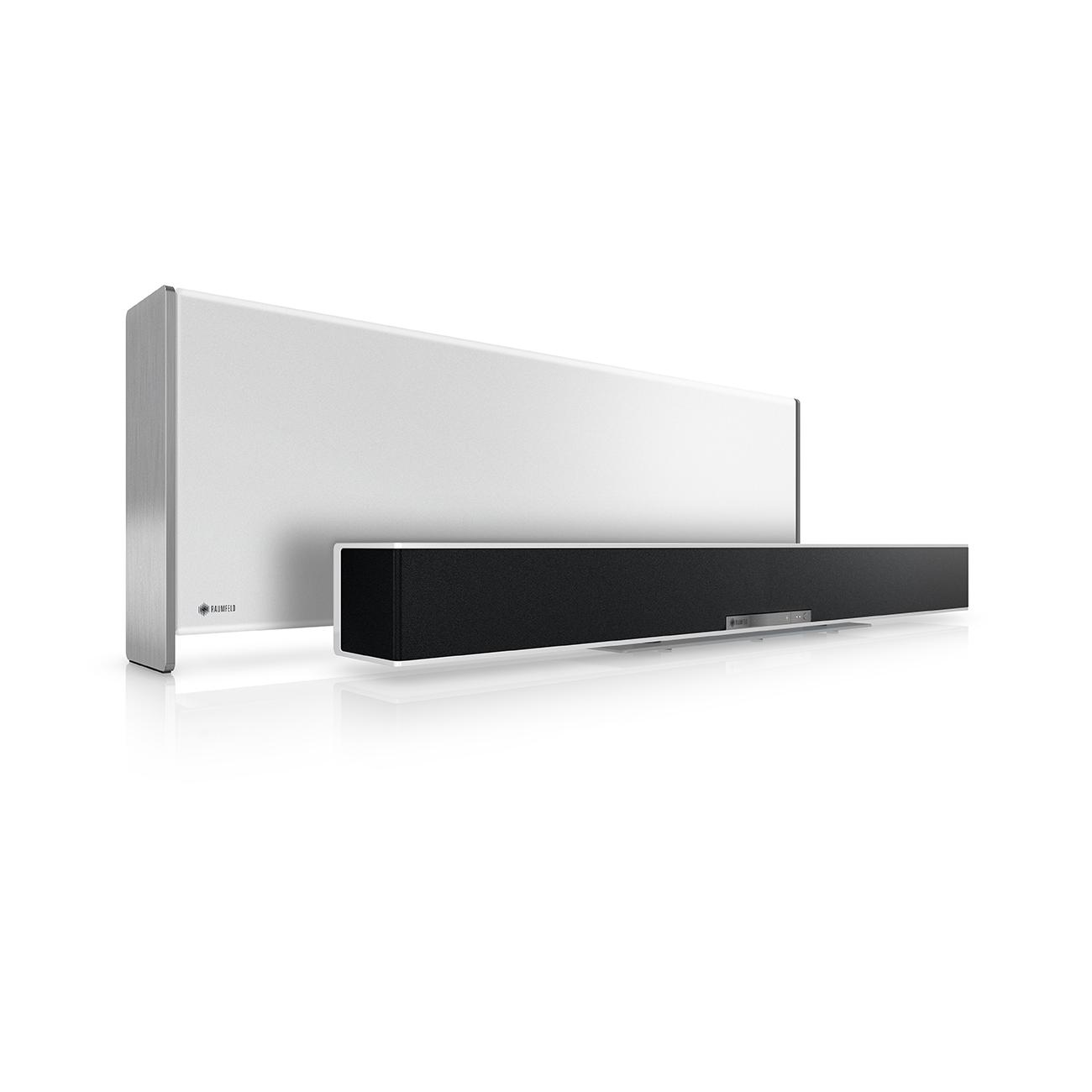 gesponsert raumfeld soundbar allround. Black Bedroom Furniture Sets. Home Design Ideas