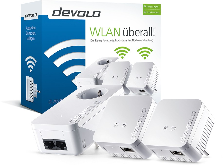 test devolo dlan 550 wifi starter kit allround. Black Bedroom Furniture Sets. Home Design Ideas