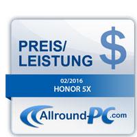 Honor 5X Award
