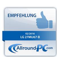 LG 27MU67-B Award