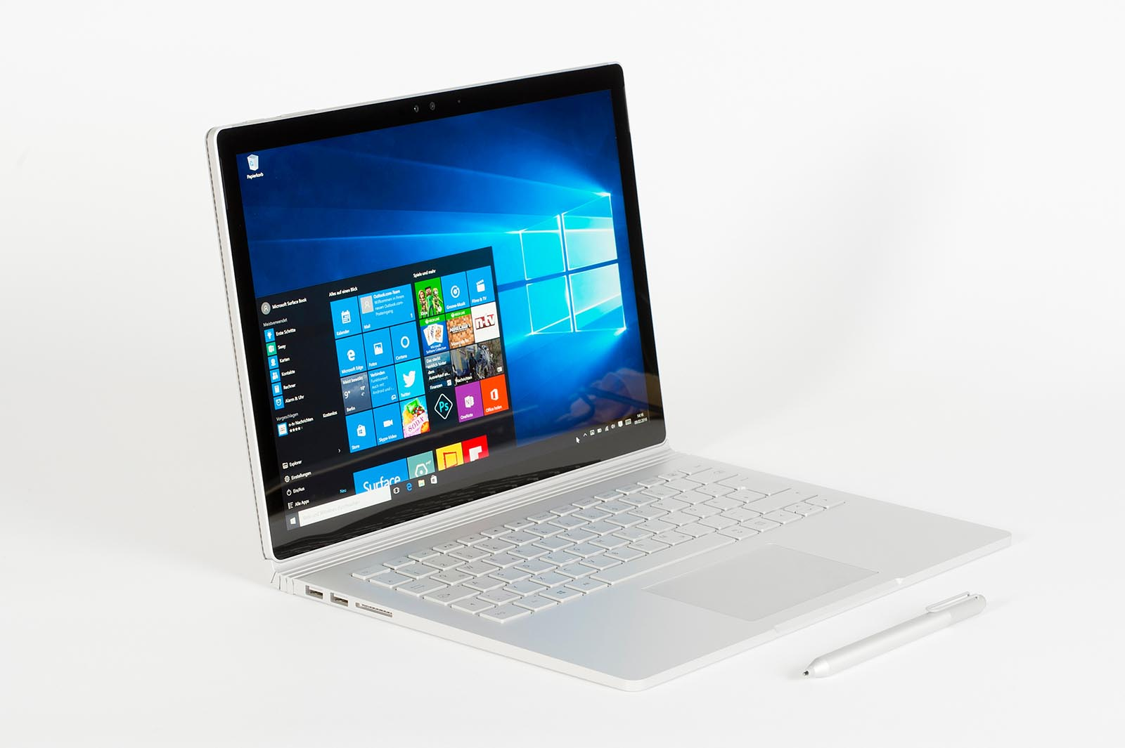 Test Microsoft Surface Book