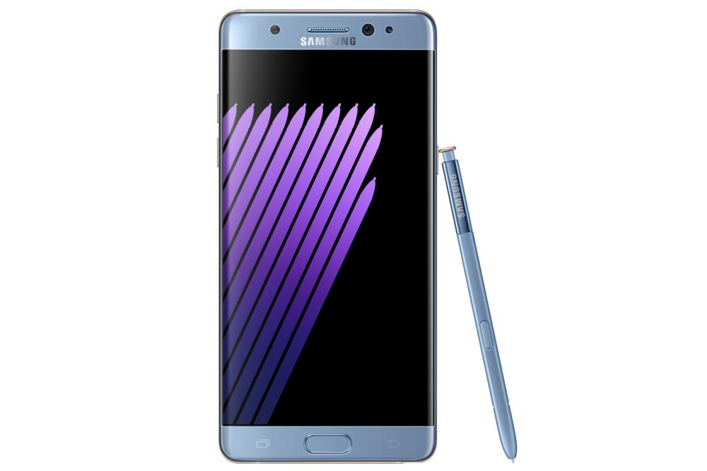 Samsung Galaxy Note 7 - Bildschirm