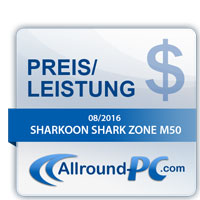 Sharkoon Shark Zone M50 Award