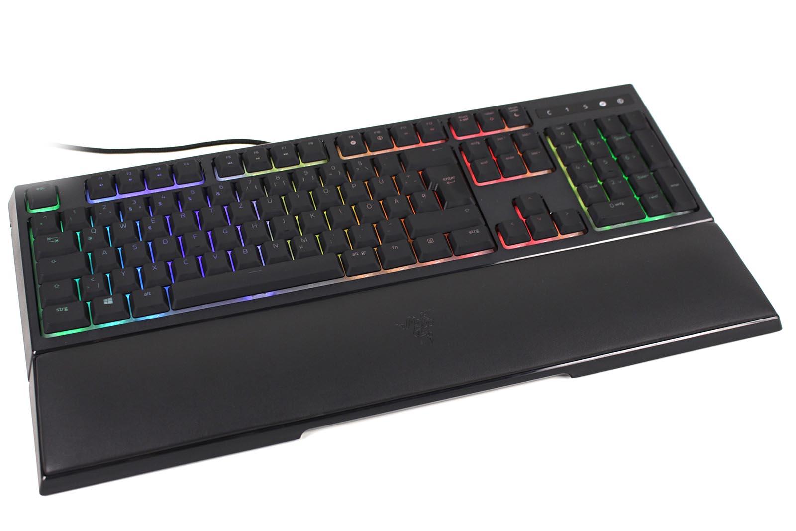 Tidssvarende Test: Razer Ornata Chroma Gaming-Tastatur - Allround-PC.com FP-16