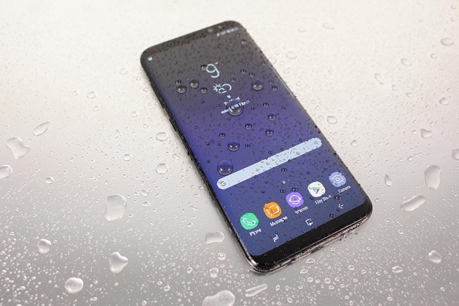 Samsung Galaxy S8 - Nass