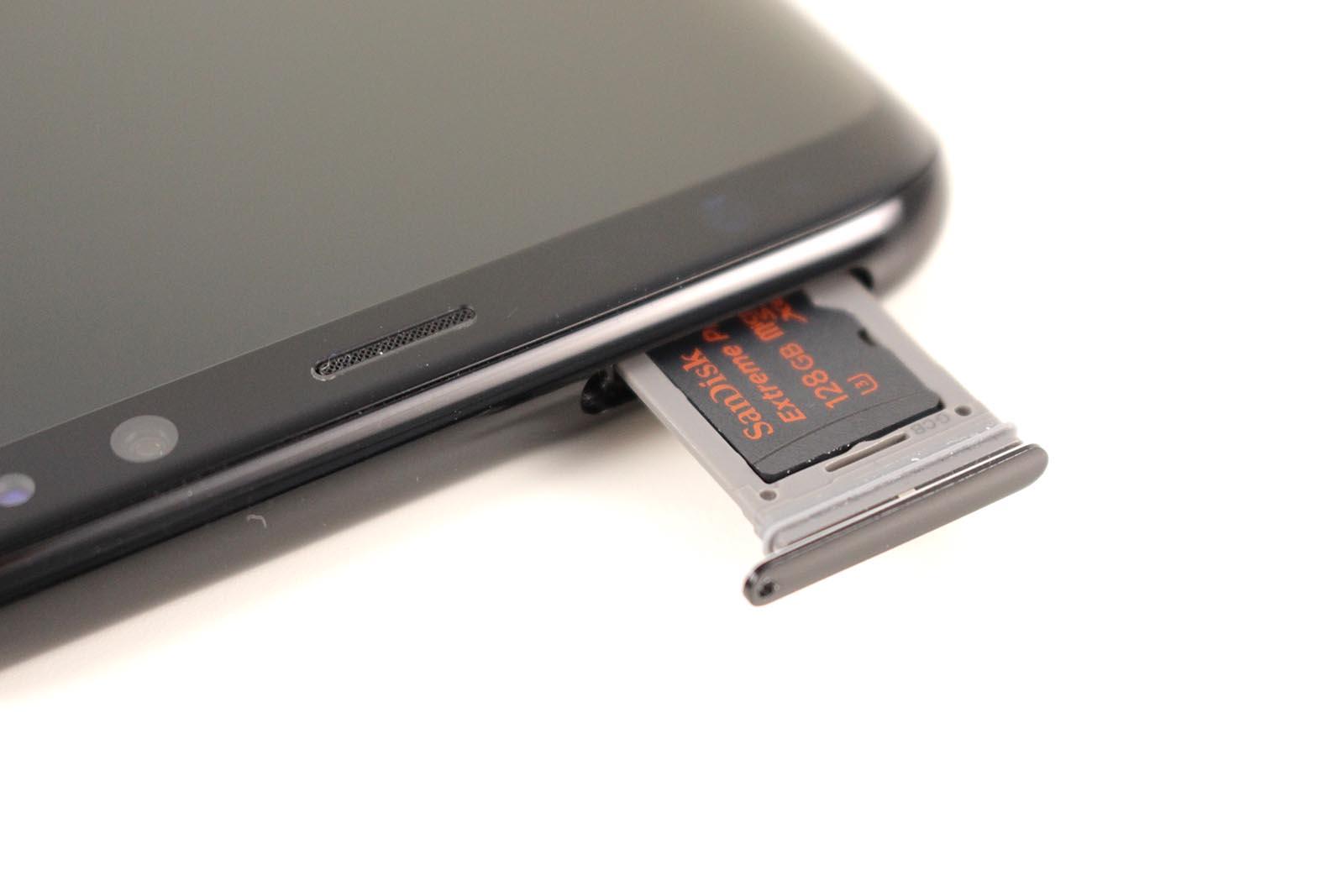 Samsung Galaxy S8 - Speicherslot