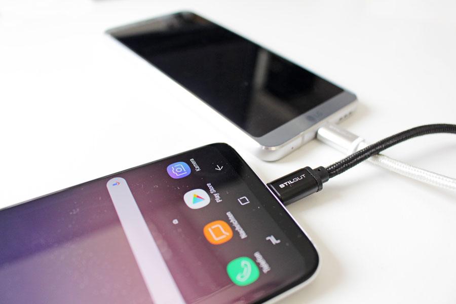 smartphones mitgelieferte usb kabel sind h ufig langsam. Black Bedroom Furniture Sets. Home Design Ideas