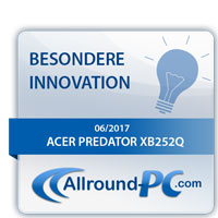 Acer Predator XB252Q Innovations Award
