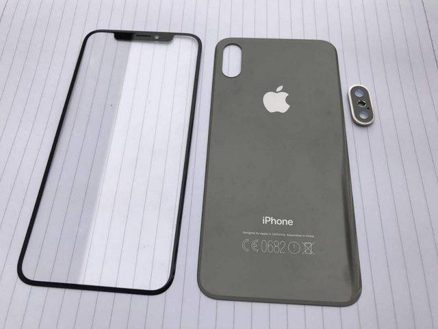 Apple iPhone 8 Vorder und Rueckseite