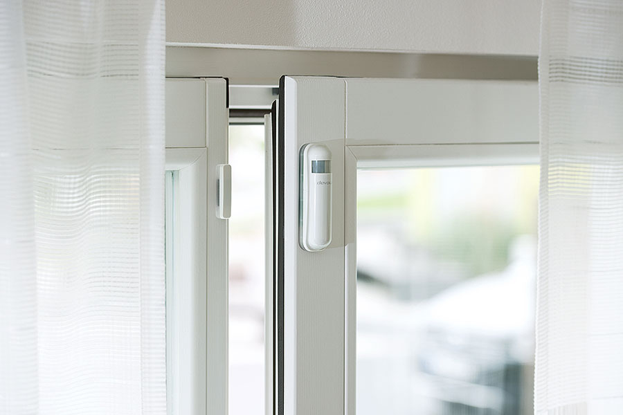 devolo Home Control Urlaub - Fensterkontakt